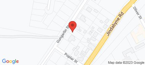 Location map for 31 Gungarlin Street Berridale