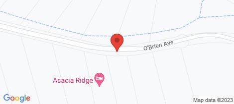 Location map for 24 O'Brien Avenue Berridale