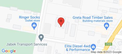 Location map for 35 Hay Avenue - Payless Storage Wangaratta