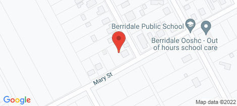 Location map for 24 Mary Street Berridale
