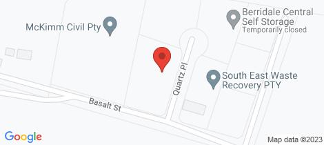 Location map for 1 Quartz Place Berridale