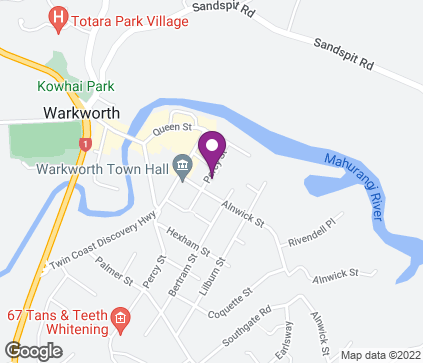 Map of Unit 4, 23 Percy St in Warkworth