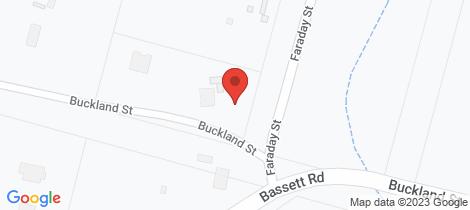 Location map for 5 Faraday Street Neilborough