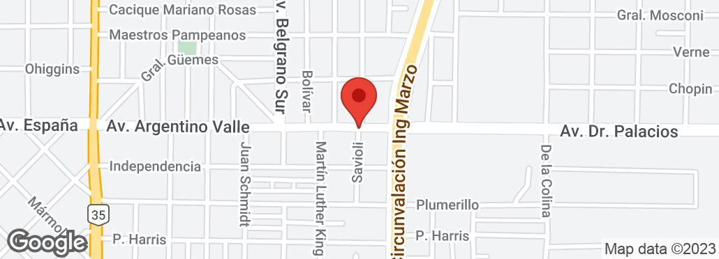 Av. Argentino Valle 706 , Santa Rosa, La Pampa, LP