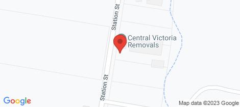 Location map for Lot 2 & 3/320 Station Street Epsom