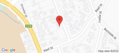 Location map for 3 Newton Street Eaglehawk