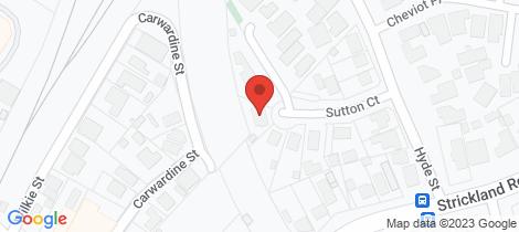 Location map for 1/9 Sutton Court East Bendigo