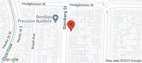 Location map for 29 Sternberg Street Kennington