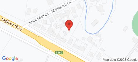Location map for 319 McIvor Road Junortoun