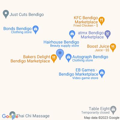 Inkspot Bendigo Marketplace Shopping Centre<br>(opp Priceline)<br> 116-120 Mitchell St, BENDIGO, VIC 3550, AU