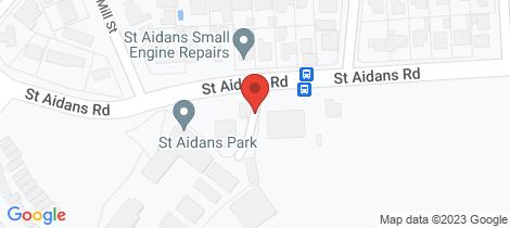 Location map for 20/202 St Aidans Road Kennington