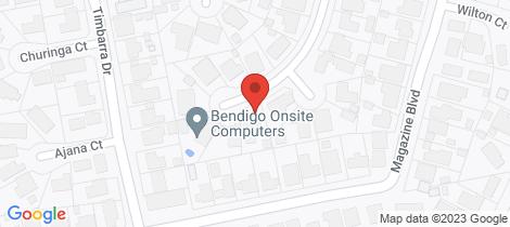 Location map for 12 Gresham Court Golden Square