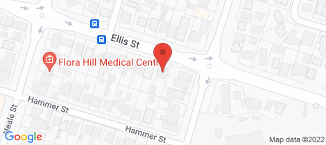 Location map for 42 Ellis Street Flora Hill