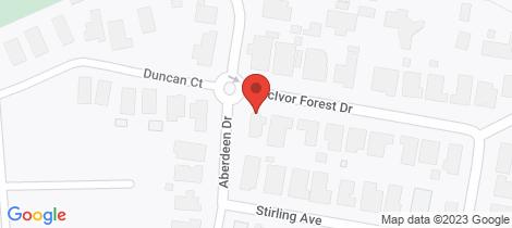 Location map for Stage 17B McIvor Forest Estate- Stage 17B Junortoun