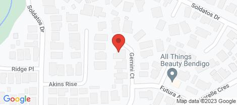 Location map for 3 Gemini Court Golden Square