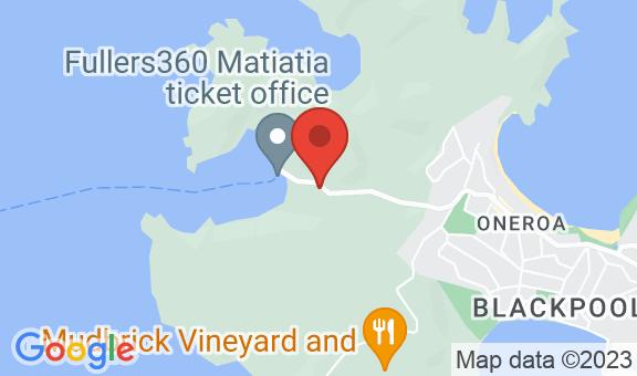 The Waiheke Pad Location