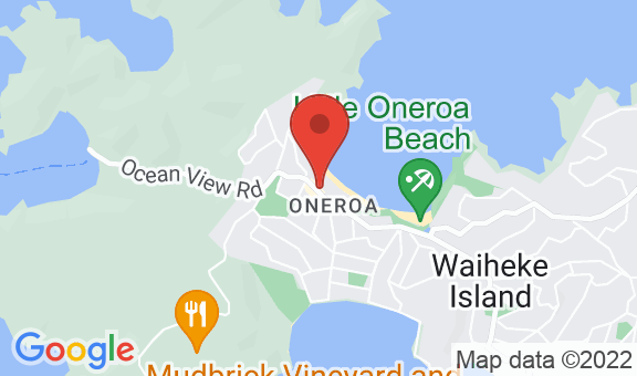 Oneroa Bay Location
