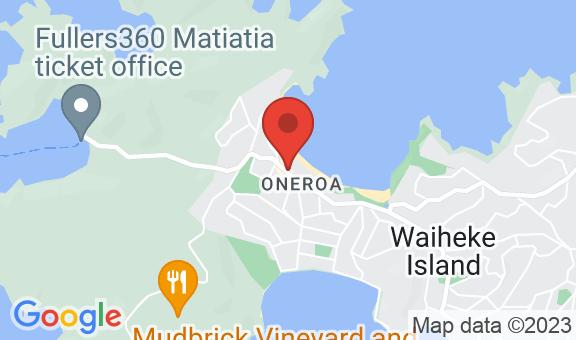 Oneroa Bay Location