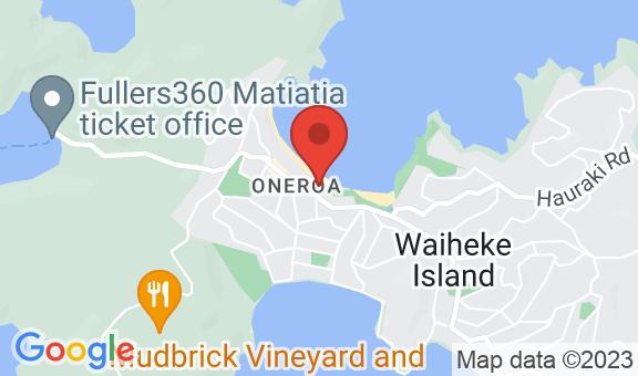 Oneroa Beachfront Location