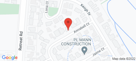 Location map for 1/26 Annabell Court Spring Gully