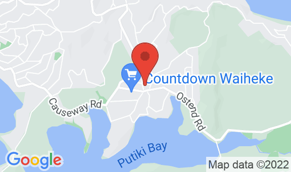 Waiheke Island Motel Location