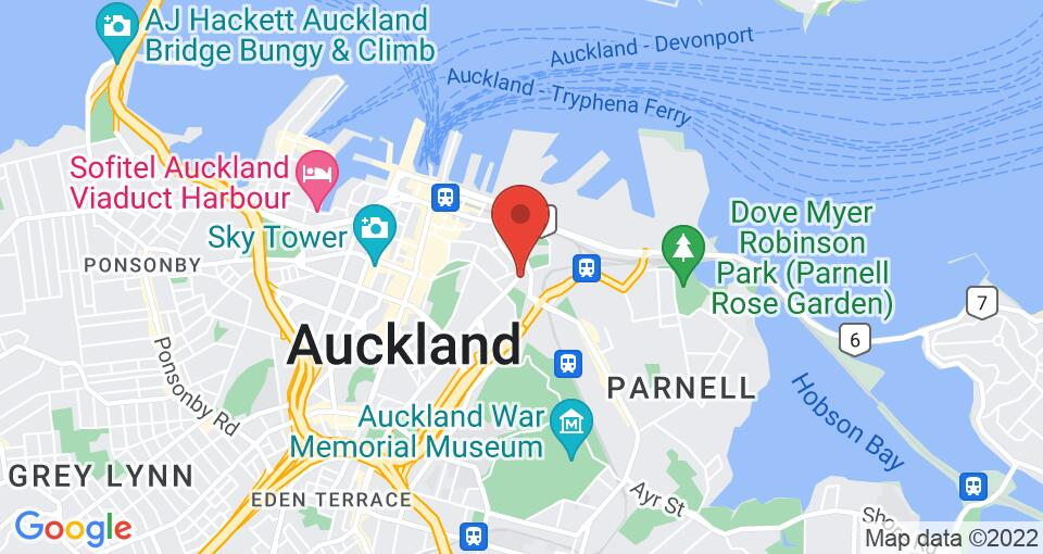 Google Map of UniLodge Auckland