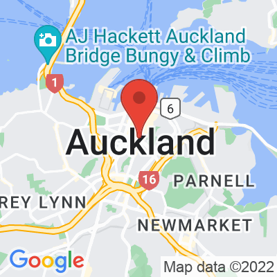Map showing Bite Cafe (Auckland)