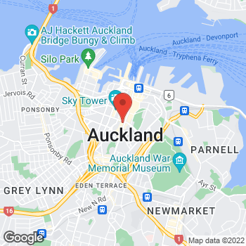 Map of STA Travel at 267 Queen Street, Auckland,  1010
