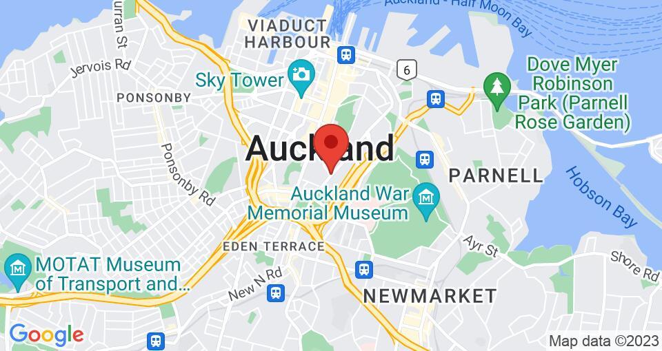 Google Map of 55 Symonds Street