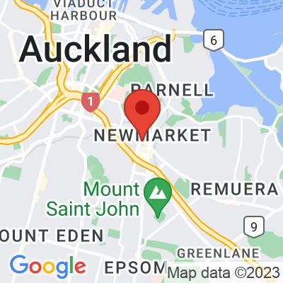 Map showing Bambina Newmarket