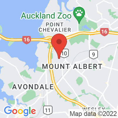 Map showing Long Black (Auckland)