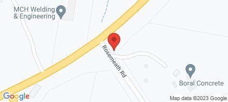Location map for 1 Rosemeath Road Bombala
