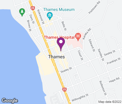 Map of 606 Pollen Street in Thames