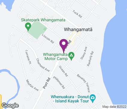 Map of O'Hagan Vision Care, 612 Port Road in Whangamata