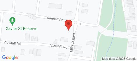 Location map for Lot lot 36/41 Mikada Boulevard Kilmore