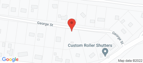Location map for 3 George Street Kinglake