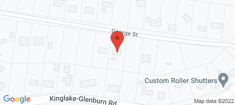 Location map for 9 GEORGE STREET Kinglake
