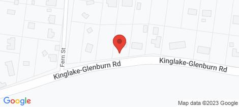Location map for 309 Kinglake-Glenburn Road Kinglake