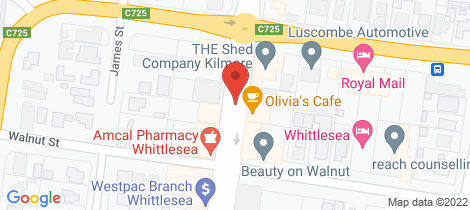 Location map for lot 3 Mikada Boulevard Kilmore