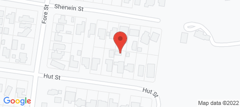 Location map for 50 Hut Street Whittlesea