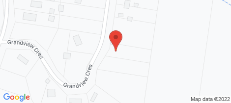 Location map for 33 Grandview Crescent Kinglake