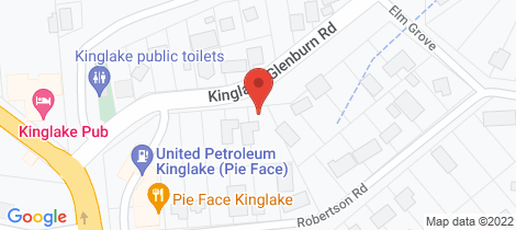 Location map for 16 Kinglake-Glenburn Road Kinglake