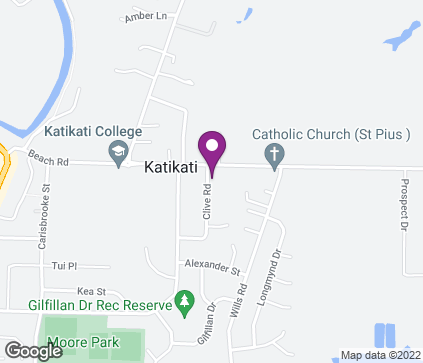 Map of Katikati Medical Centre, 4 Clive Road in Katikati