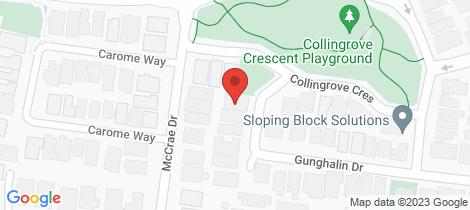 Location map for 39 Gunghalin Drive Doreen