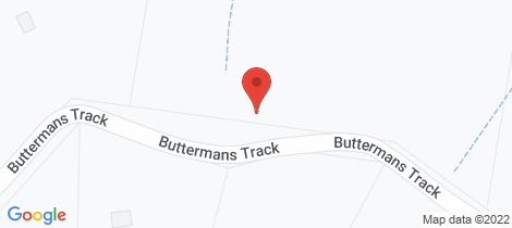 Location map for 399 Buttermans Track St Andrews