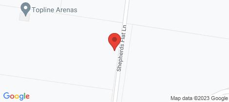Location map for 25 Shepherds Flat Lane Cottles Bridge