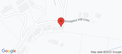 Location map for 22 Prospect Hill Crescent Hurstbridge