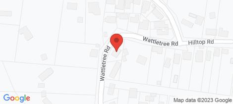 Location map for 60 Wattletree Road Hurstbridge