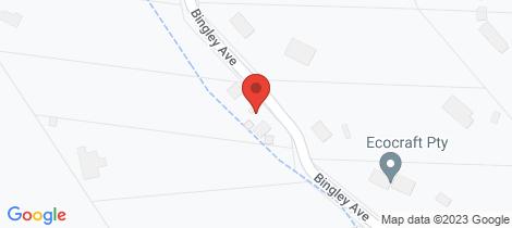 Location map for 25 Bingley Avenue Hurstbridge