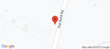 Location map for 285 Flat Rock Road Hurstbridge